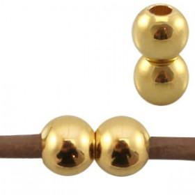 DQ metaal magneetsloten voor 2mm leer Goud