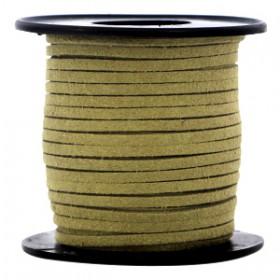 Imi suède 3mm Olive green