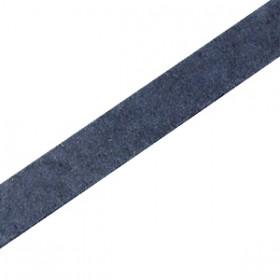 DQ leer plat 10mm Dark denim blue
