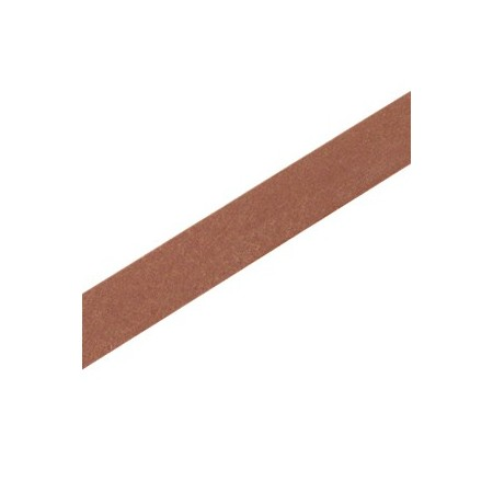 DQ leer plat 10mm Rust brown