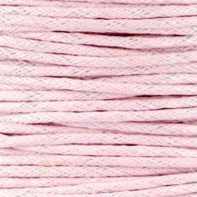 Waxkoord 1.5mm Light pink