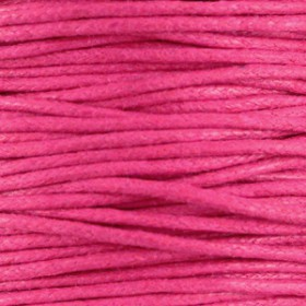 Waxkoord 1.5mm Hot Pink