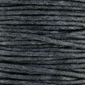 Waxkoord 1.5mm Grey