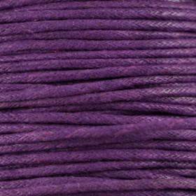 Waxkoord 1.5mm Purple