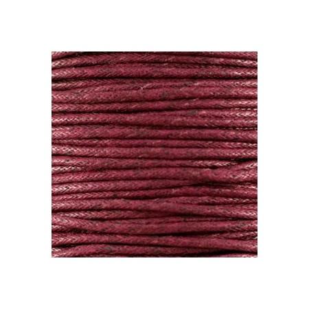 Waxkoord 1.5mm Bordeaux