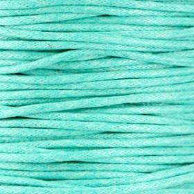 Waxkoord 1.5mm Turquoise mint