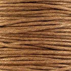 Waxkoord 1.5mm Medium brown