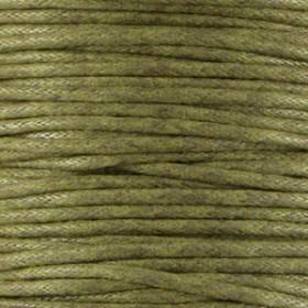 Waxkoord 1.5mm Army green