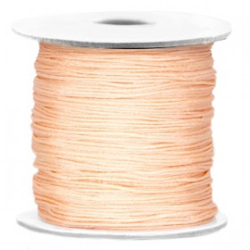 Macramé draad 0.7mm Light peach