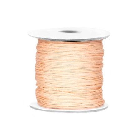 Macramé draad 0.7mm Light peach