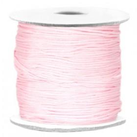 Macramé draad 0.7mm Light pink