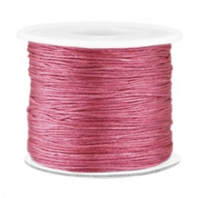 Macramé draad 0.7mm Light aubergine red