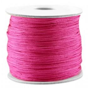 Macramé draad 0.7mm Hot pink
