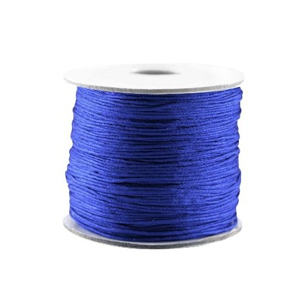 Macramé draad 0.7mm Cobalt blue