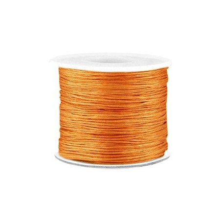 Macramé draad 0.7mm Light copper brown