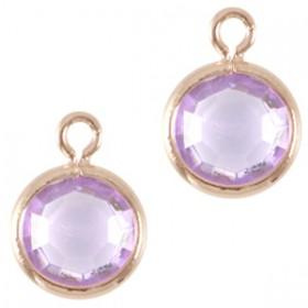 DQ facethanger Rosé goud Lila purple