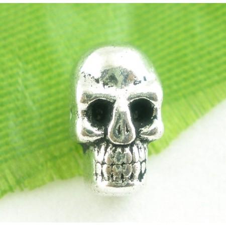 Skullkraal zilverkleur