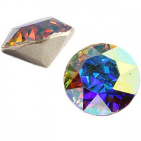 Swarovski SS29 puntsteen Crystal aurore boreale