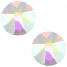 Swarovski Elements 2088-SS34 flatback Xirius Rose Crystal aurore boreale