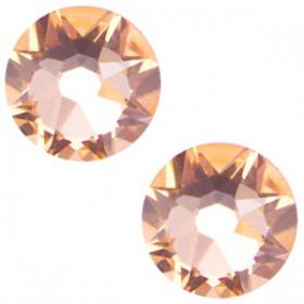 Swarovski Elements 2088-SS34 flatback Xirius Rose Light peach