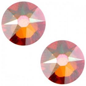 Swarovski Elements 2088-SS34 flatback Xirius Rose Crystal copper brown