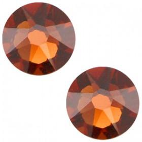 Swarovski Elements 2088-SS34 flatback Xirius Rose Smoked topaz