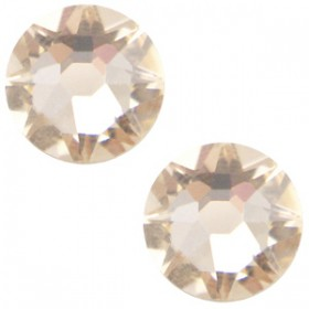 Swarovski Elements 2088-SS34 flatback Xirius Rose Silk beige