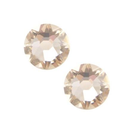 Swarovski Elements 2088-SS34 flatback Xirius Rose Silk beige