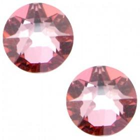 Swarovski Elements 2088-SS34 flatback Xirius Rose Crystal antique pink
