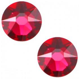 Swarovski Elements 2088-SS34 flatback Xirius Rose Ruby red