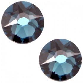 Swarovski Elements 2088-SS34 flatback Xirius Rose Montana blue
