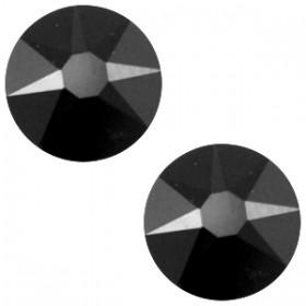 Swarovski Elements 2088-SS34 flatback Xirius Rose Jet zwart