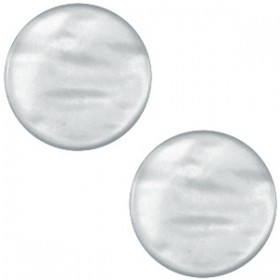 cabochon 7mm Polaris Parelmoer Grey