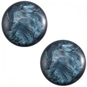 7 mm classic cabochon Jais demin blue