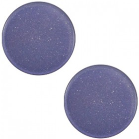 7 mm platte cabochon Super Polaris Midnight blue