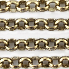 DQ Jasseron rond 3mm  Goud