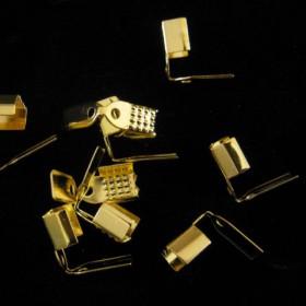 Basic veterklemmetje 5mm goud