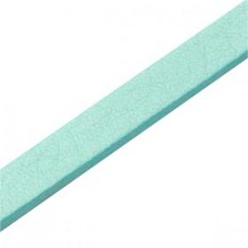 DQ plat nappaleer 10mm Aqua blue