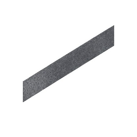 DQ plat leer 10mm Dark platinum grey
