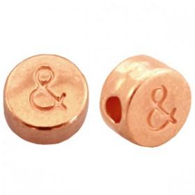 DQ metaal letterkraal & Rosé goud