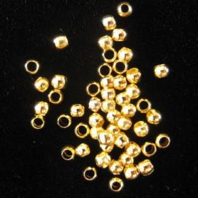 Knijpkraaltjes 2.5mm goud