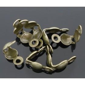 Kalotjes bronskleurig met oog