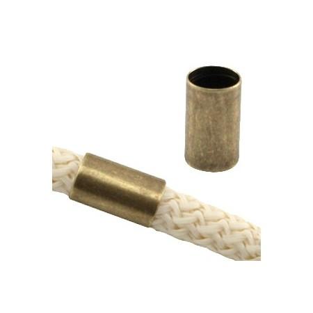 DQ metaal tube voor 5 mm koord Brons