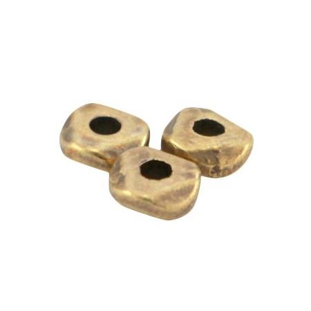 DQ metaal kraal 4.8x1.9mm Antiek brons (nikkelvrij)