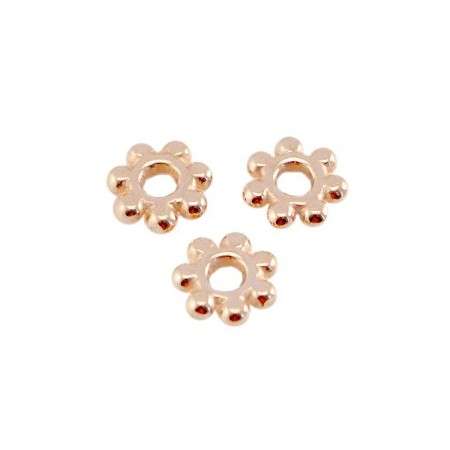 DQ spacer Bali ring 5.6mm Rosé goud