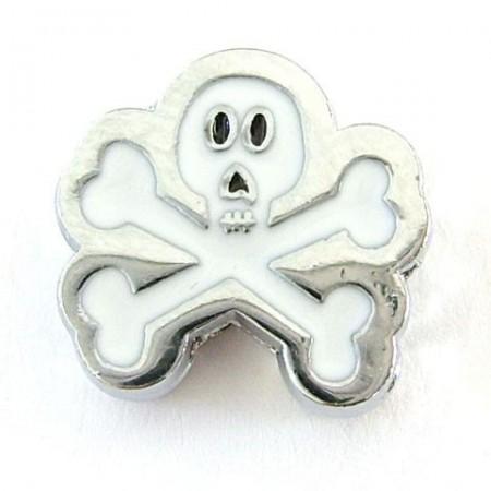 Figuur Skull wit