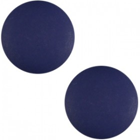 Polaris cabochon matt 7mm Midnight blue