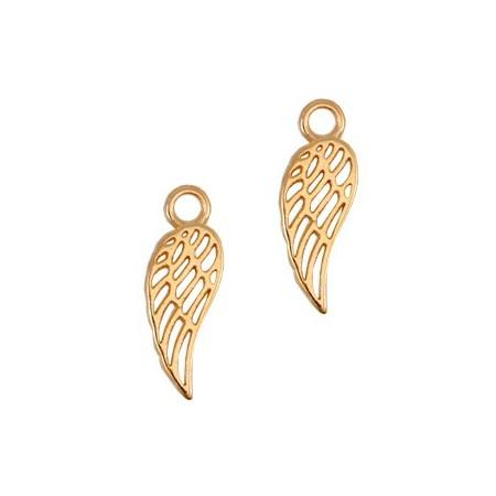 DQ bedels angel wing Rosé goud