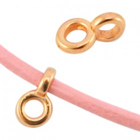 DQ Ring met oog 2.2mm Rosé goud