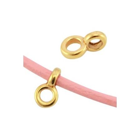 DQ Ring met oog 2.2mm Goud